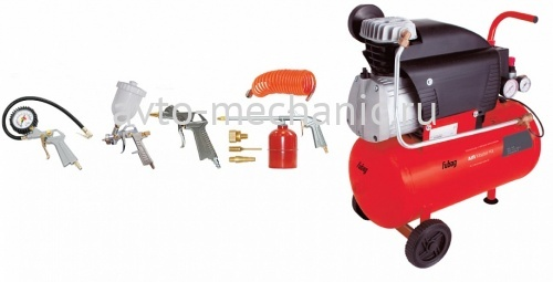 Компрессор 24л AIR MASTER KIT + 6 (FC 230/24 + 6 предметов)